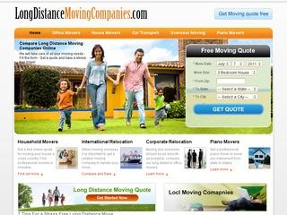 Free Long Distance Moving Quotes